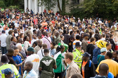 Notting hill carnival 2008. The biggest street party in europe Stock Photos