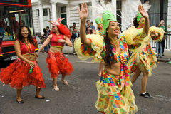 Notting hill carnival 2008. The biggest street party in europe Royalty Free Stock Photos