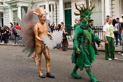 Notting hill carnival 2008. The biggest street party in europe Stock Photography