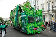 Notting hill carnival 2008. The biggest street party in europe Stock Photo
