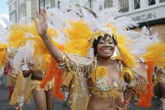 Notting Hill Carnival. Parade in London 2006 Royalty Free Stock Image