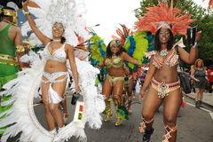 Notting Hill Carnival London 2012 Royalty Free Stock Photo