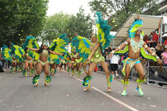 Notting Hill Carnival London 2012 Stock Photo