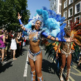Notting Hill Carnival, 2013 Royalty Free Stock Photos