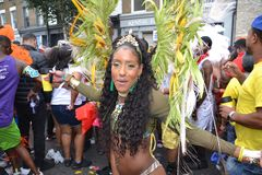 Notting Hill Carnival Parade 2018 in London UK, August 27th 2018 Stock Images