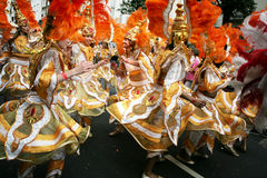 Notting Hill Carnival Scene Royalty Free Stock Photography