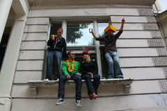 Notting Hill Carnival - Window Stock Photography