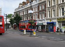 Notting Hill District of London Stock Image