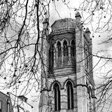 In notting hill england europe old construction and    history Royalty Free Stock Photography