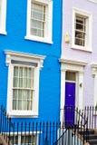 Notting hill in  england     wall door Stock Photos