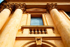 In notting hill  europe ol construction    history Royalty Free Stock Photo