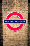 Notting hill gate Stock Images