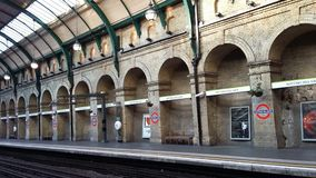 Notting Hill Gate station Royalty Free Stock Image