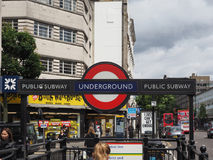 Notting Hill Gate tube station in London Stock Photos