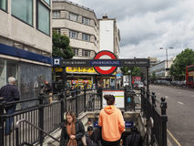 Notting Hill Gate tube station in London Stock Image