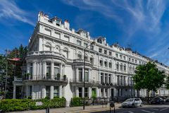 Free Notting Hill Houses On Neighborhood In London, England, UK Stock Images - 138668124