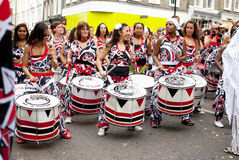 Notting Hill karneval Royaltyfri Fotografi
