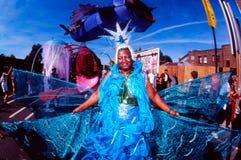 Notting Hill karneval i London UK Royaltyfria Bilder