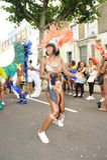 Notting Hill karneval London 2012 Royaltyfria Foton