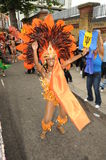 Notting Hill karneval London 2012 Royaltyfria Bilder