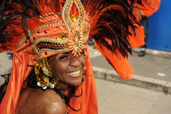 Notting Hill karneval London 2012 Royaltyfri Foto