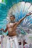 Notting Hill Karneval in Westlondon, Großbritannien Lizenzfreies Stockbild