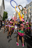 Notting Hill Karneval in Westlondon, Großbritannien stockfotografie