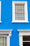 Notting hill in london england old antique     wall Royalty Free Stock Photography