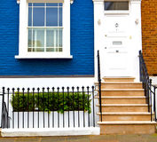 Notting hill in london        england old suburban and antique     wall Stock Photography