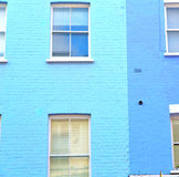 Notting hill in london england old suburban and antique     wall Royalty Free Stock Image