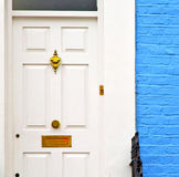 Notting hill in london england old suburban and antique     wall Royalty Free Stock Photo