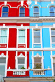Notting hill in london england old suburban Stock Photo