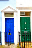 Notting hill in london england old suburban Stock Photos