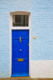 Notting hill in london england olod suburban and antique wall do Royalty Free Stock Photo