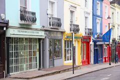 Notting Hill, London Royalty Free Stock Photography