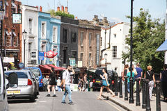 Notting Hill, Londres Imagem de Stock Royalty Free