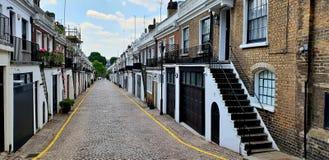Notting Hill maúlla, Londres imagen de archivo