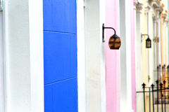Notting hill in   old suburban and a Stock Images
