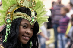 Notting Hill's Carnival in West London, UK Royalty Free Stock Photo