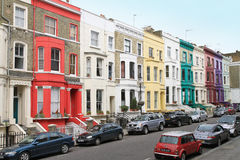 Notting hill street Stock Photography