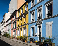Paris - Rue Cremieux  Royalty Free Stock Photo