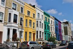 In Notting Hill Stock Photography