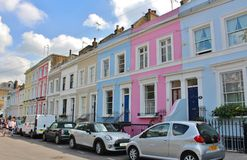 In Notting Hill Royalty Free Stock Photography