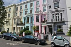 In Notting Hill Royalty Free Stock Photos