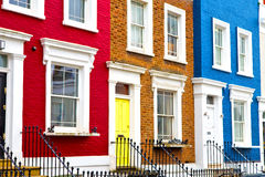 Notting- Hillbereich in London England Lizenzfreies Stockfoto