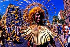 Notting- Hillkarneval in London Großbritannien Stockfotos