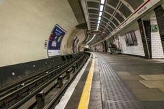 Notting wzgórza bramy stacja metra zdjęcie royalty free