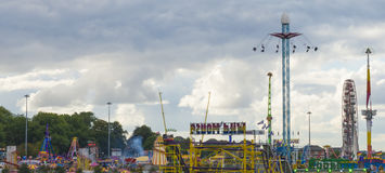 Nottingham's Goose Fair royalty free stock image