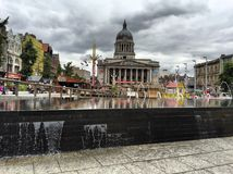 Nottingham. Adventure square royalty free stock image
