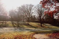Nottingham arboretum Fotografia Royalty Free